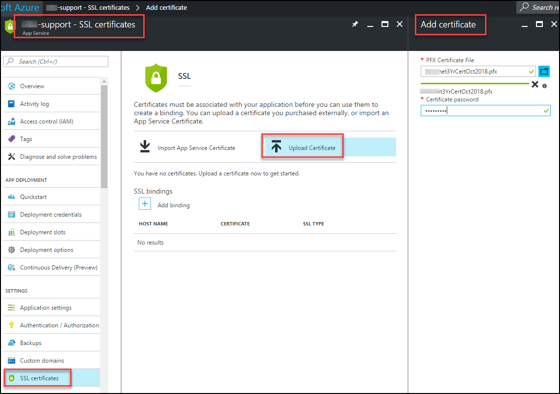 Bind A Custom Ssl Certificate To An Azure Web App Arlan Blogs