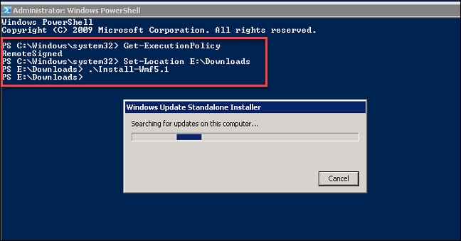 Installing PowerShell 5 1 via WMF 5 1 | Arlan Blogs
