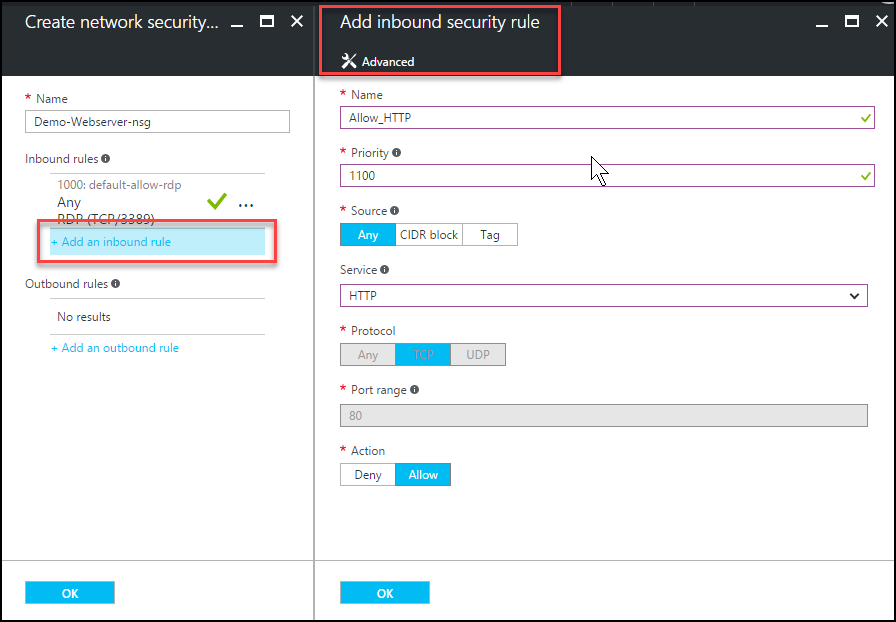 Provision an Azure 2016 Webserver (Single Tier)   Arlan Blogs