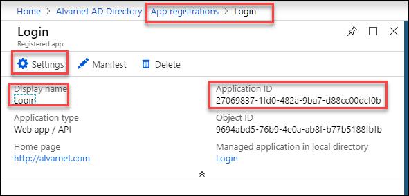 Register an Azure Active Directory Security Principal – ARM