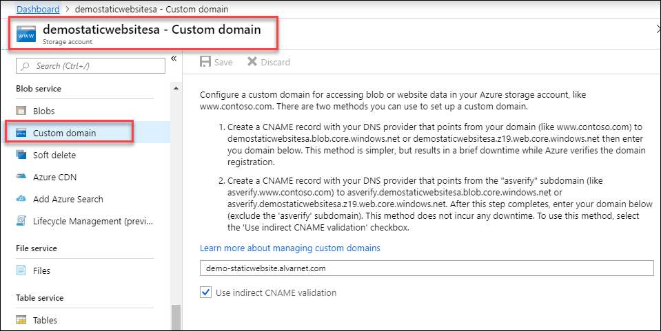 Migrate a Custom Domain & Add SSL to an Azure Content Delivery