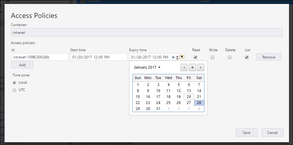 Using Microsoft Azure Storage Explorer (MASE) | Arlan Blogs