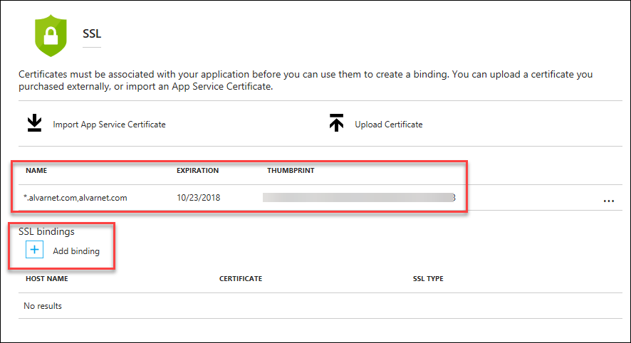 Create an Azure WordPress Website – Part 3 Add an SSL